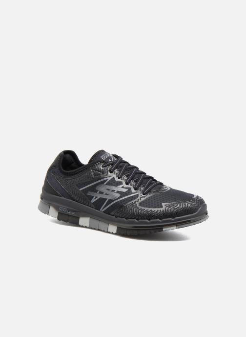 new style 41975 ba870 Chaussures de sport Skechers GO Flex Momentum Noir vue détail paire