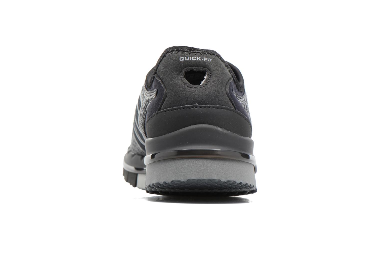 Sportschuhe Skechers GO Flex Momentum schwarz ansicht von rechts