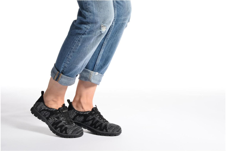 Baskets Skechers Ez Flex 3,0 Take-The-Lead Noir vue bas / vue portée sac