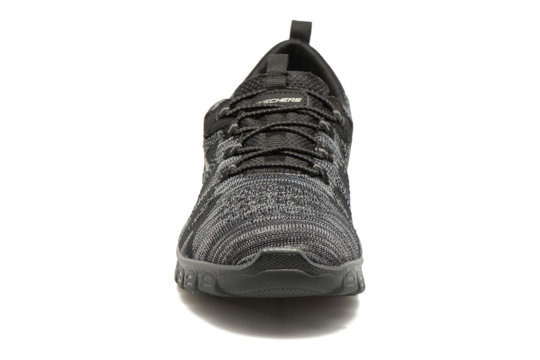 Baskets Skechers Ez Flex 3,0 Take-The-Lead Noir vue portées chaussures