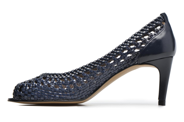 Zapatos de tacón Georgia Rose Tressa Azul vista de frente