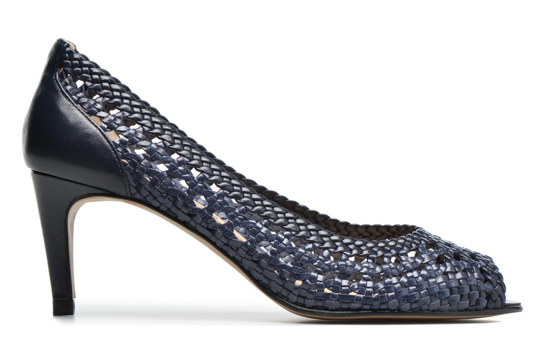 Zapatos de tacón Georgia Rose Tressa Azul vistra trasera