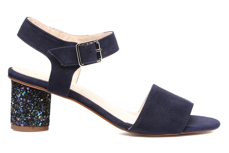 Sandales et nu-pieds Georgia Rose Anayette Bleu vue derrière