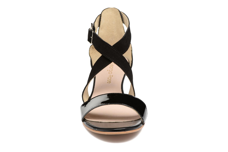Sandales et nu-pieds Georgia Rose Anacale Noir vue portées chaussures