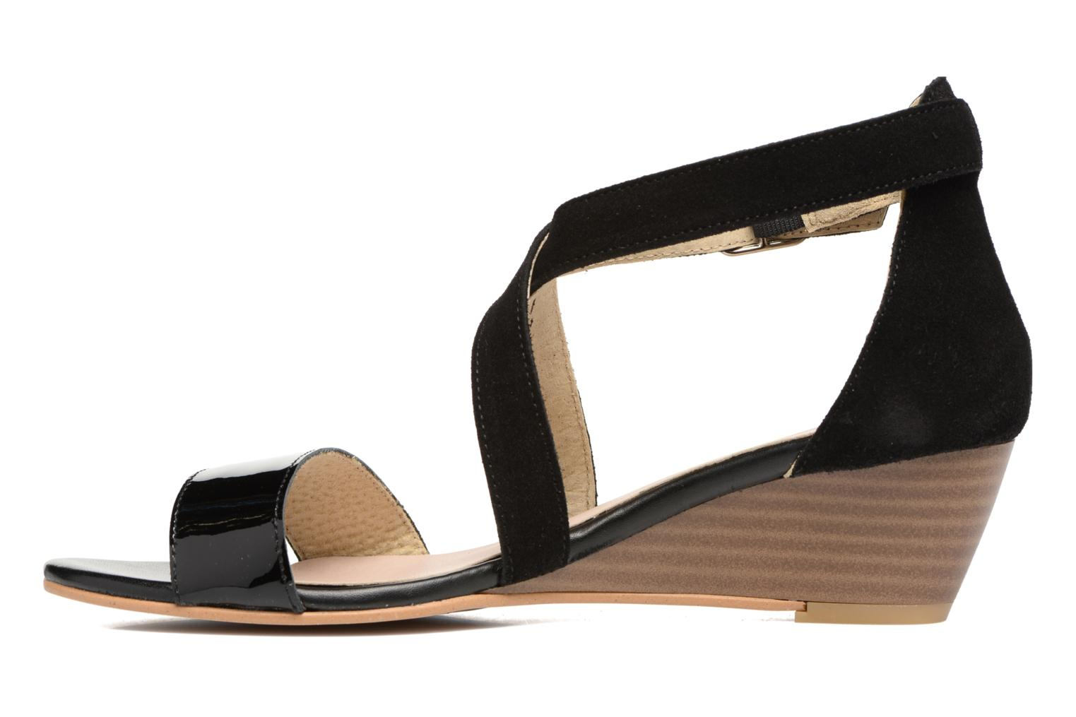 Sandals Georgia Rose Anacale Black front view