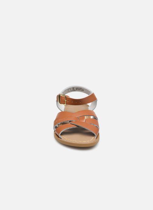 Sandales et nu-pieds Salt-Water Salt-Water Original Marron vue portées chaussures