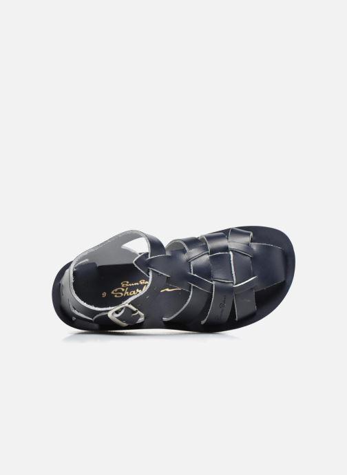Sandales et nu-pieds Salt-Water Shark Bleu vue gauche