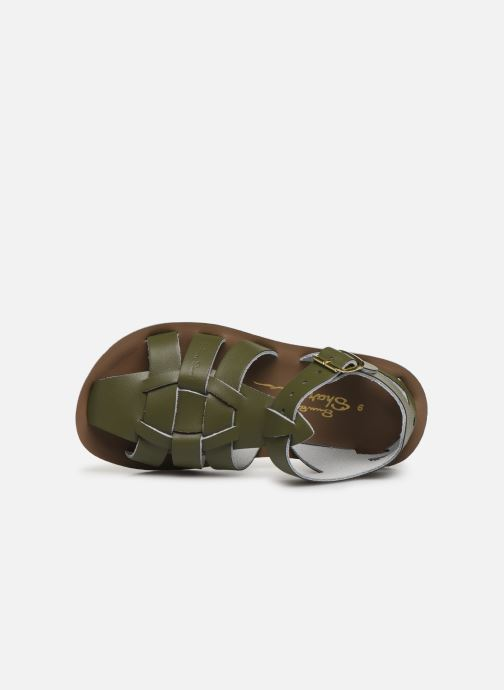 Sandalen Salt-Water Shark Groen links
