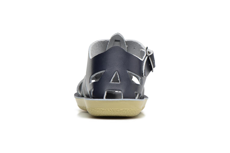 Sandales et nu-pieds Salt-Water Shark Bleu vue droite