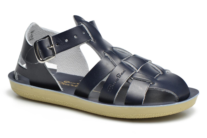 Sandales et nu-pieds Salt-Water Shark Bleu vue détail/paire