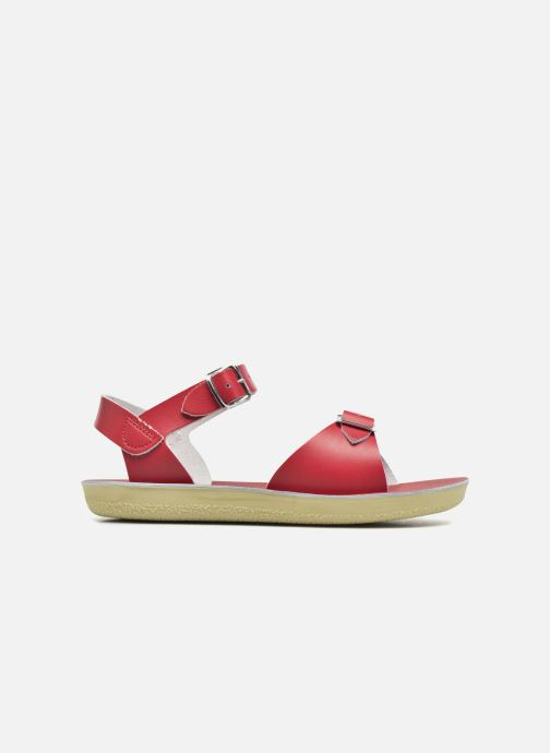 Sandales et nu-pieds Salt-Water Surfer Rouge vue derrière