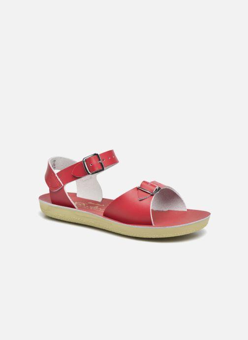 Sandales et nu-pieds Salt-Water Surfer Rouge vue détail/paire