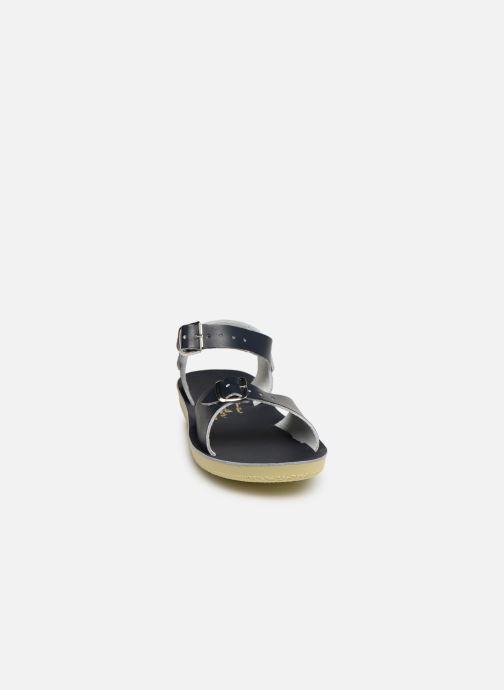 Sandales et nu-pieds Salt-Water Surfer Bleu vue portées chaussures