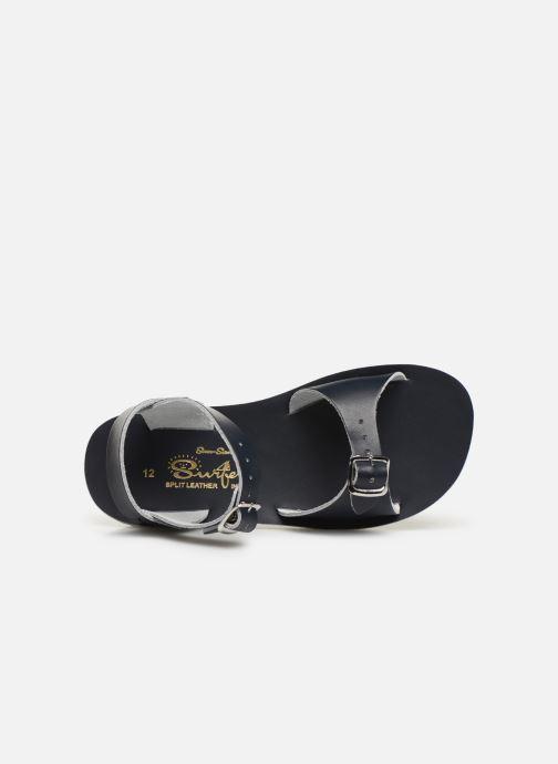 Sandales et nu-pieds Salt-Water Surfer Bleu vue gauche