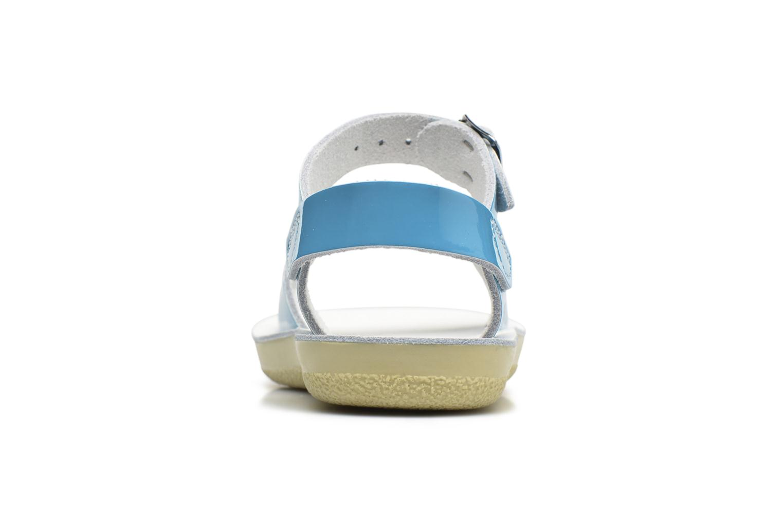 Sandales et nu-pieds Salt-Water Surfer Bleu vue droite