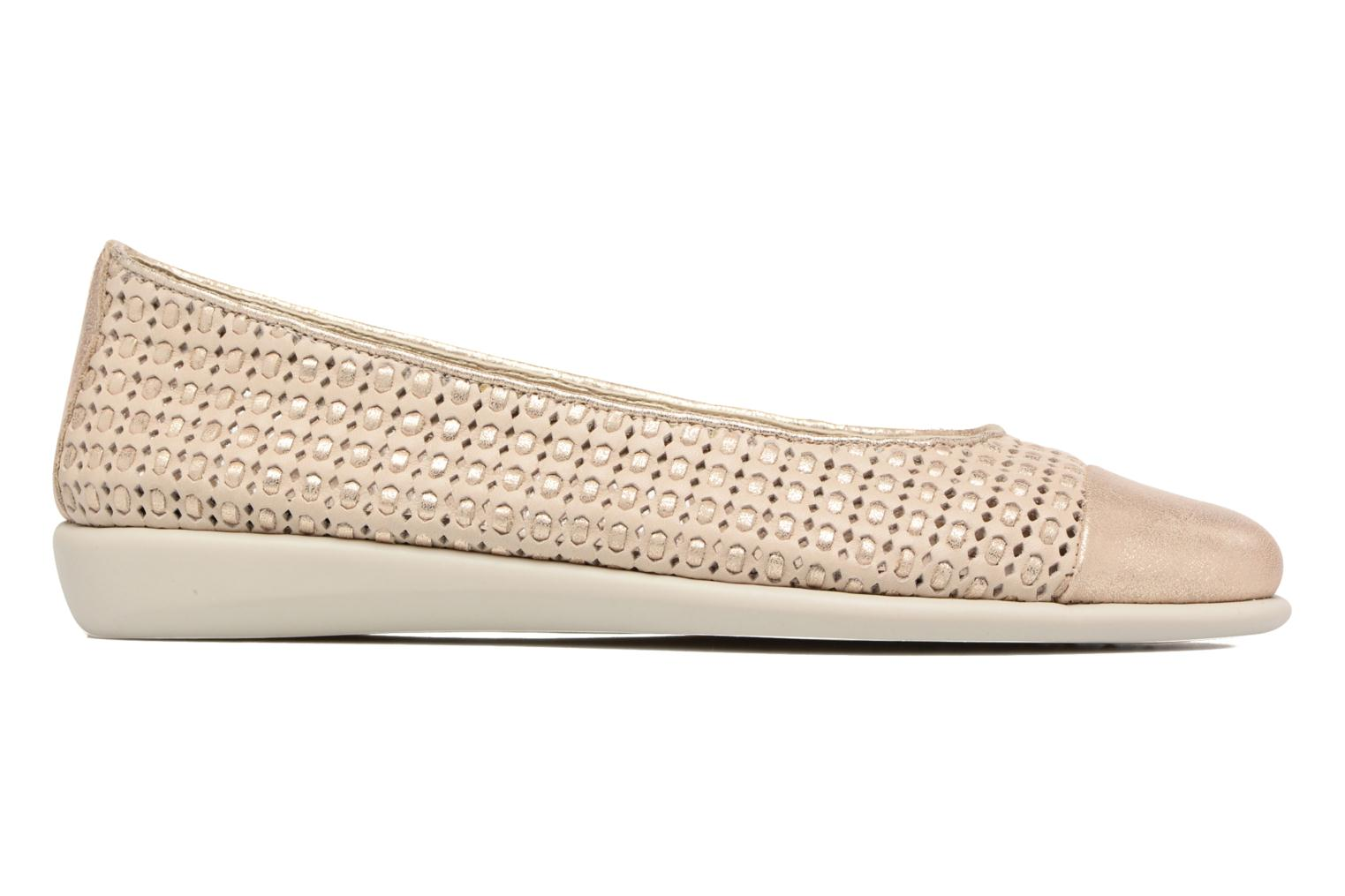 Ballet pumps The Flexx Rise a Smile Beige back view
