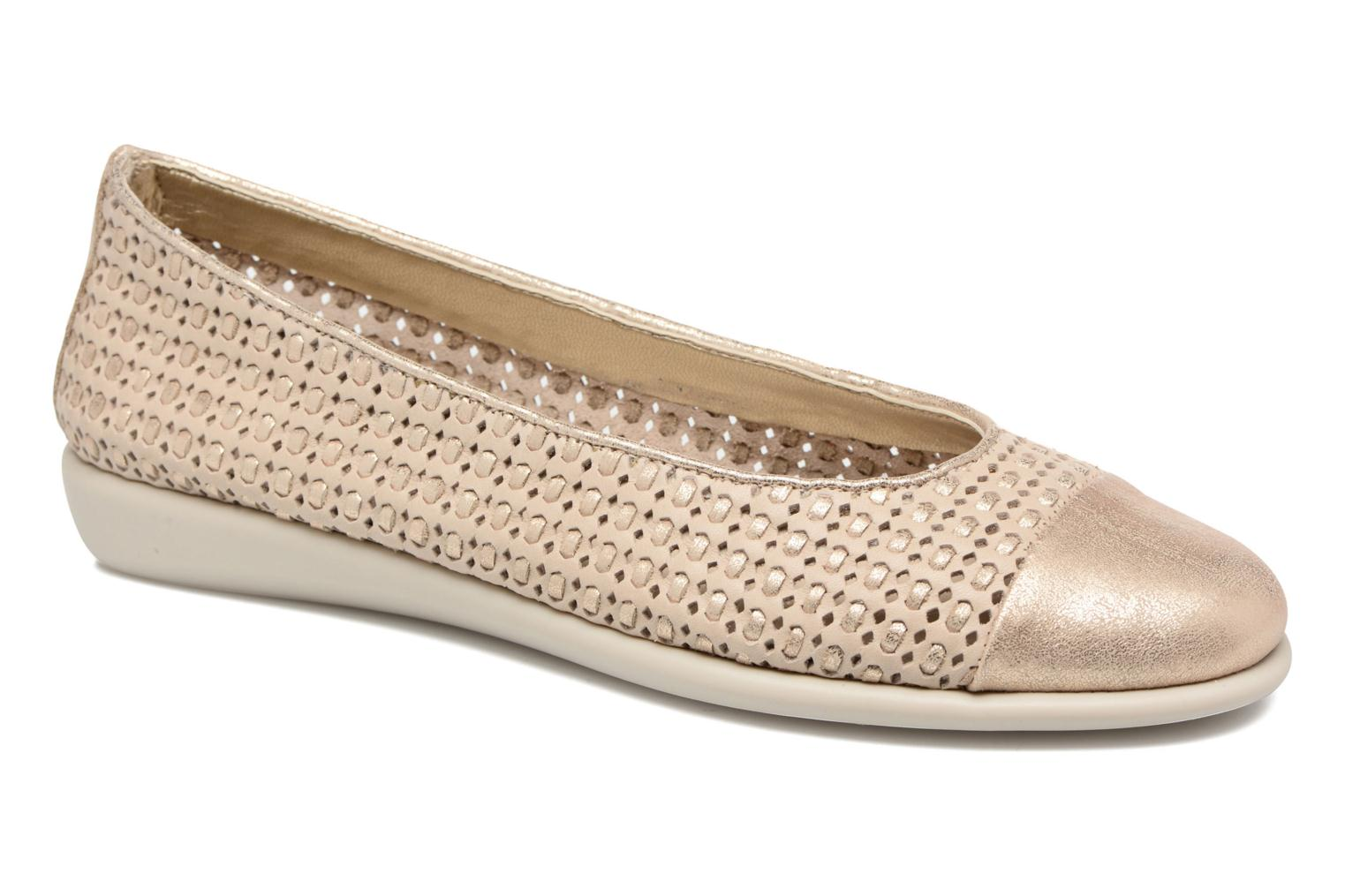 Bailarinas The Flexx Rise a Smile Beige vista de detalle / par