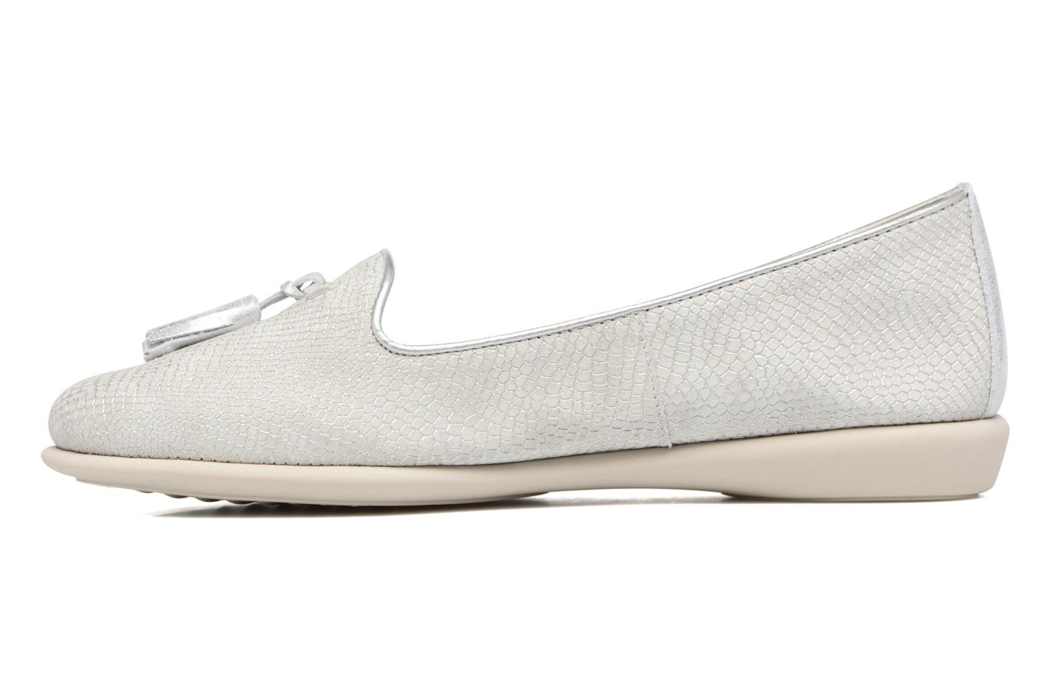 Loafers The Flexx Miss Take Silver front view