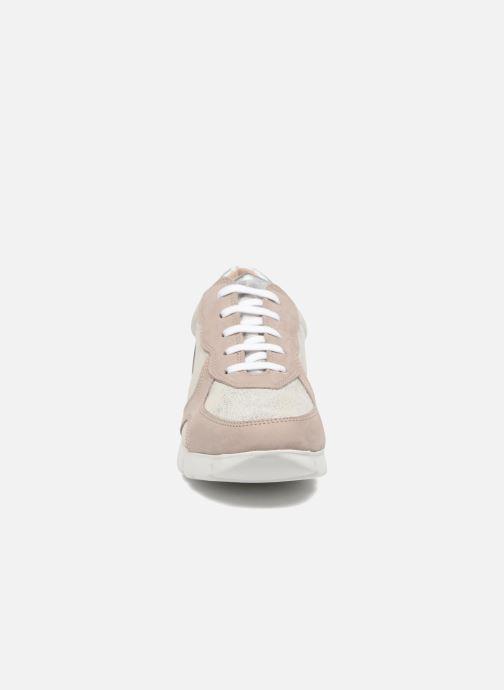 Baskets The Flexx On the Move Argent vue portées chaussures