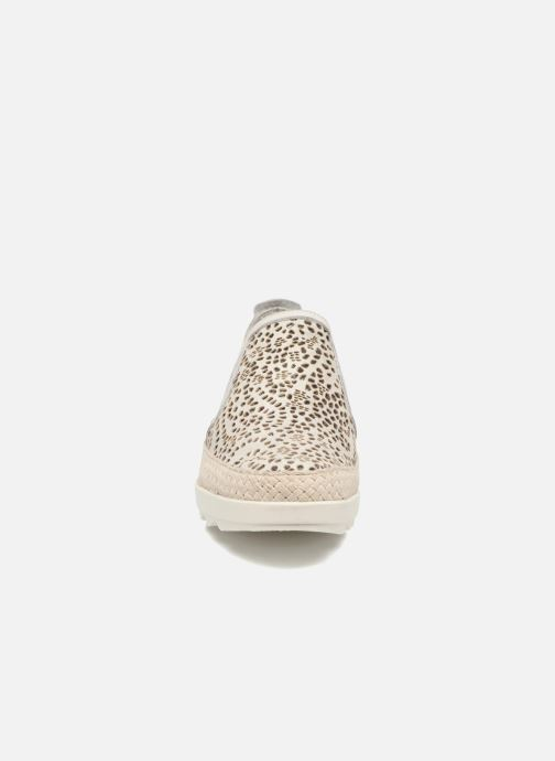 Mocassins The Flexx Call Me Blanc vue portées chaussures
