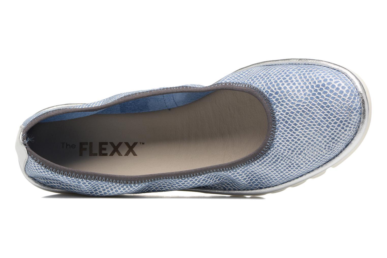 Ballerines The Flexx Mel A Drama Bleu vue gauche