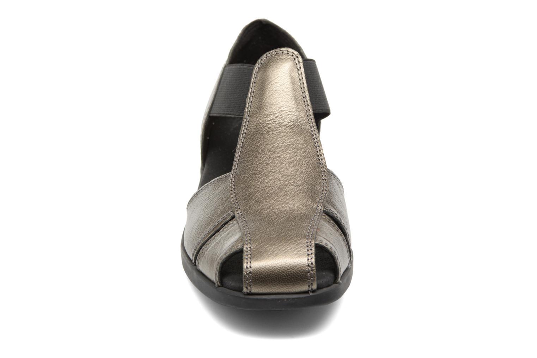 Sandalen Aerosoles 4Give silber schuhe getragen