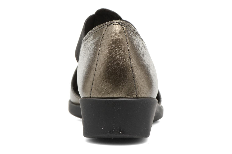 Sandalen Aerosoles 4Give silber ansicht von rechts
