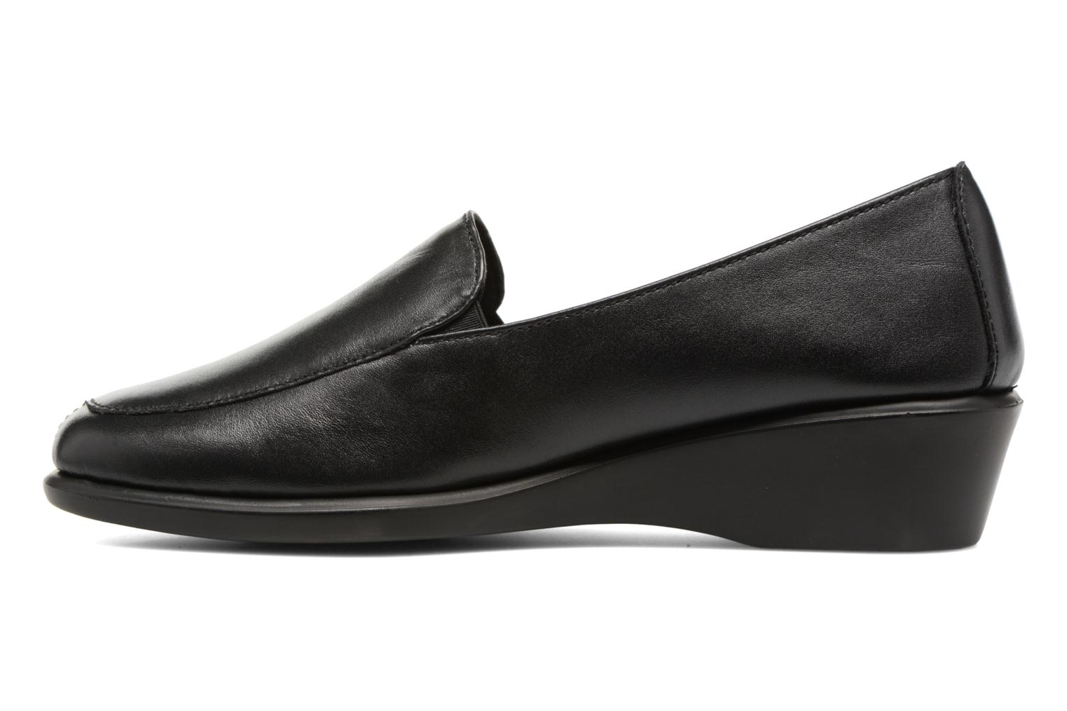 Loafers Aerosoles Four William Black front view