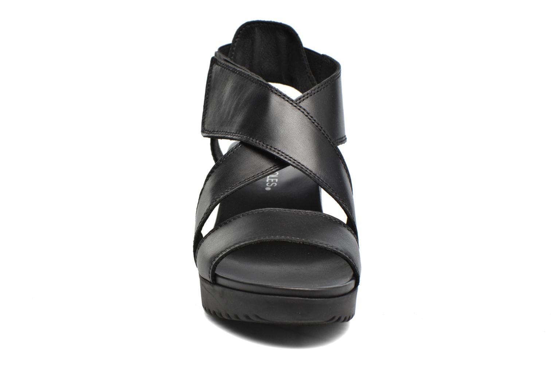 Sandales et nu-pieds Aerosoles Let's Go Noir vue portées chaussures