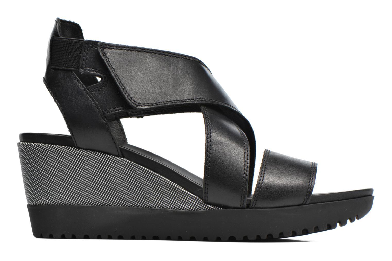 Sandales et nu-pieds Aerosoles Let's Go Noir vue derrière