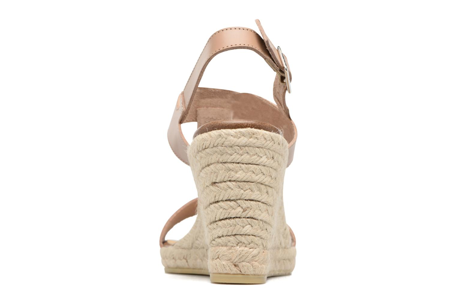 Espadrilles Georgia Rose Louvi Beige view from the right