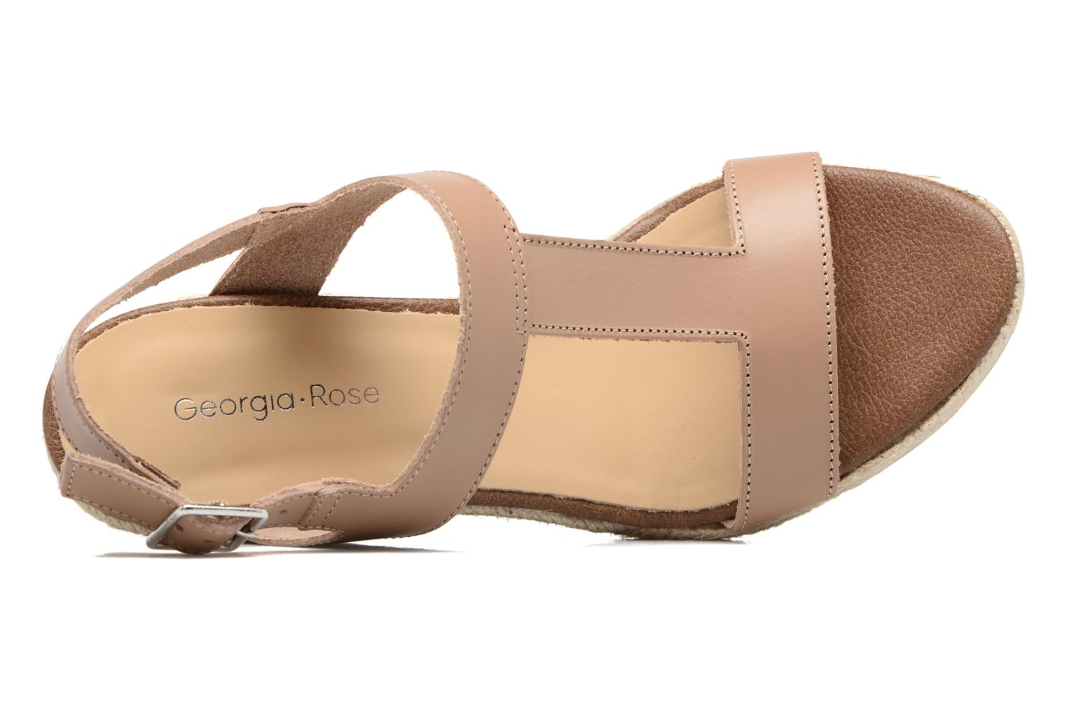 Espadrilles Georgia Rose Louvi Beige view from the left