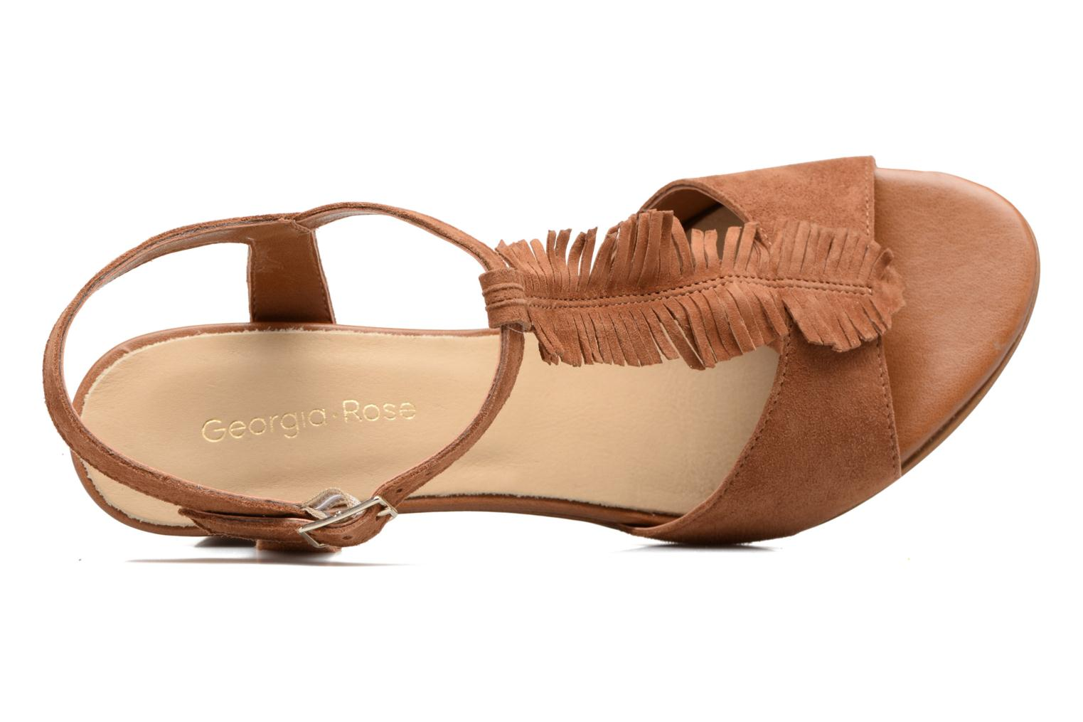 Sandalen Georgia Rose Lilifrange Bruin links