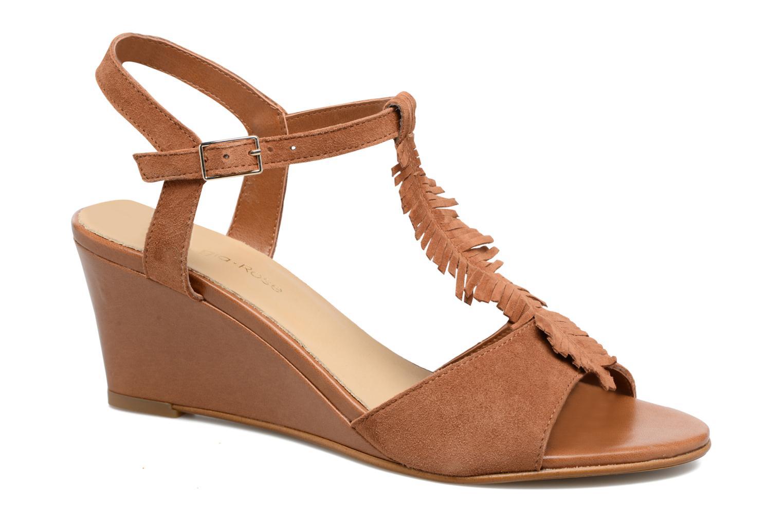 Sandaler Georgia Rose Lilifrange Brun detaljeret billede af skoene