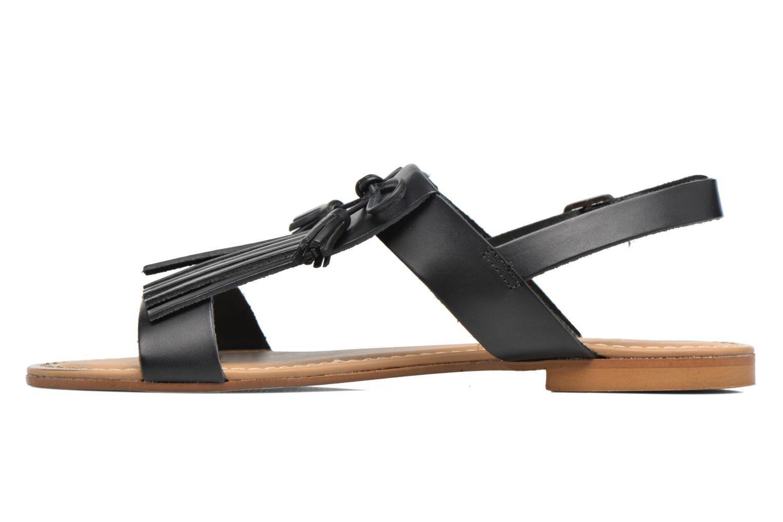 Sandalen Georgia Rose Lupatte schwarz ansicht von vorne