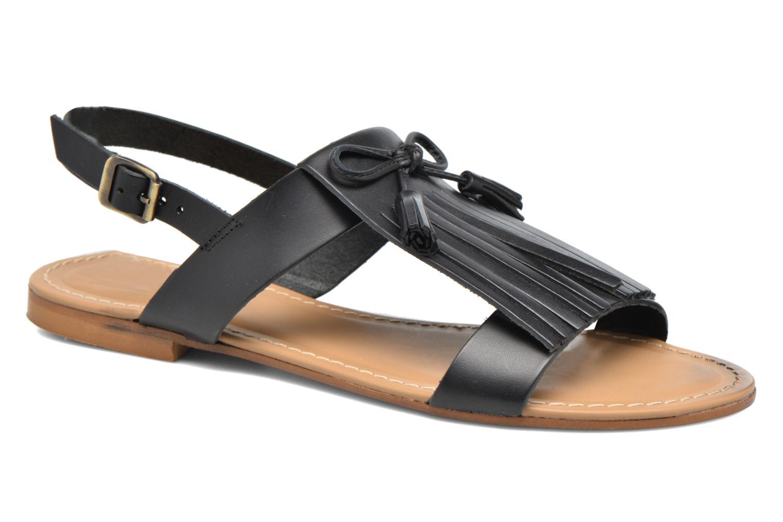 Sandalen Georgia Rose Lupatte schwarz detaillierte ansicht/modell