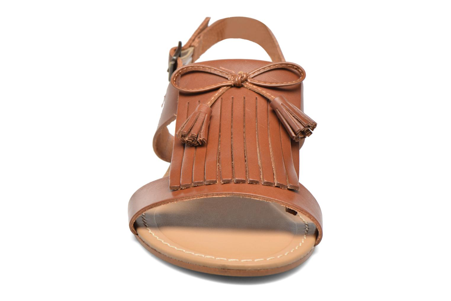 Sandals Georgia Rose Lupatte Brown model view
