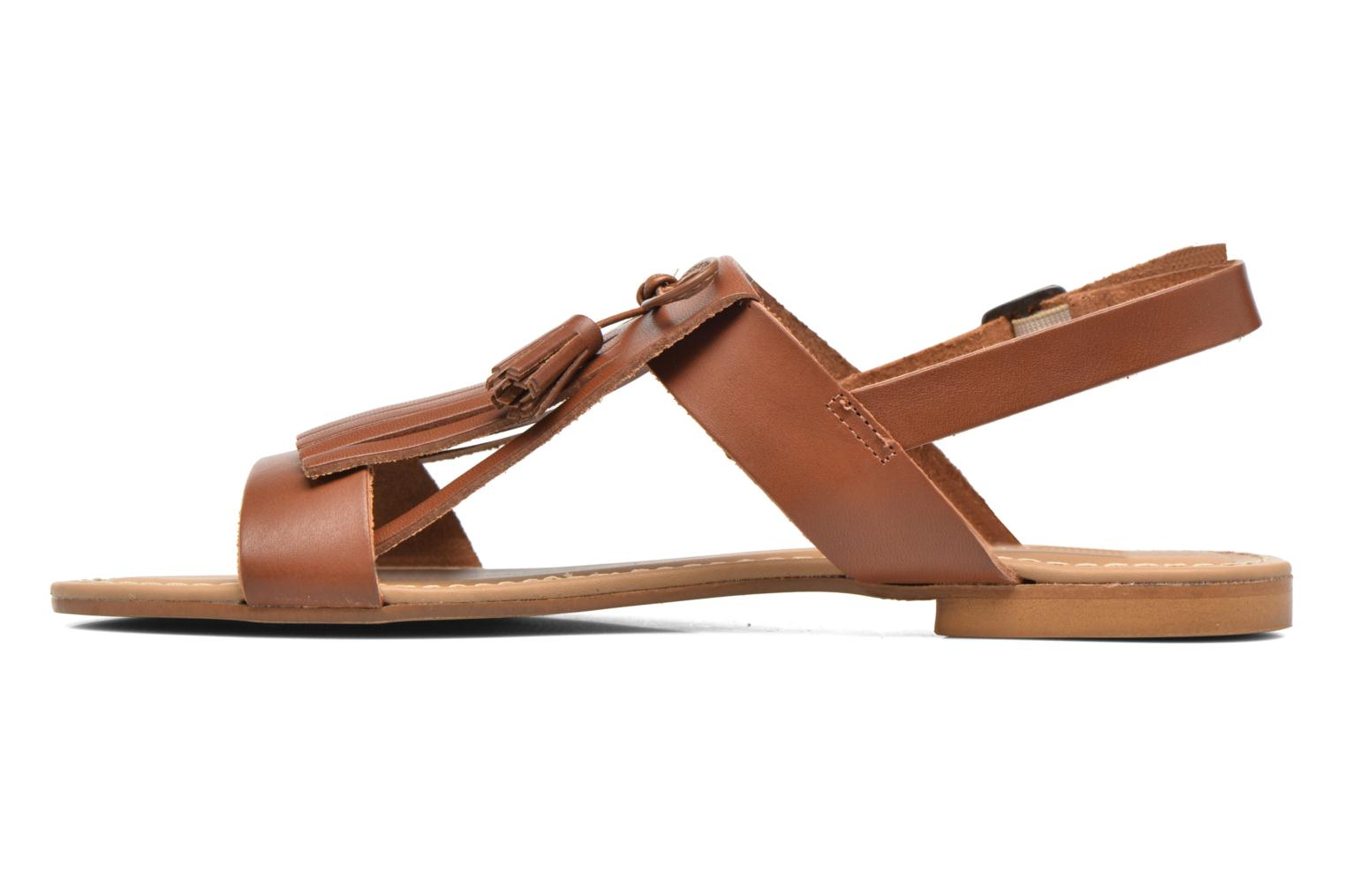 Sandals Georgia Rose Lupatte Brown front view