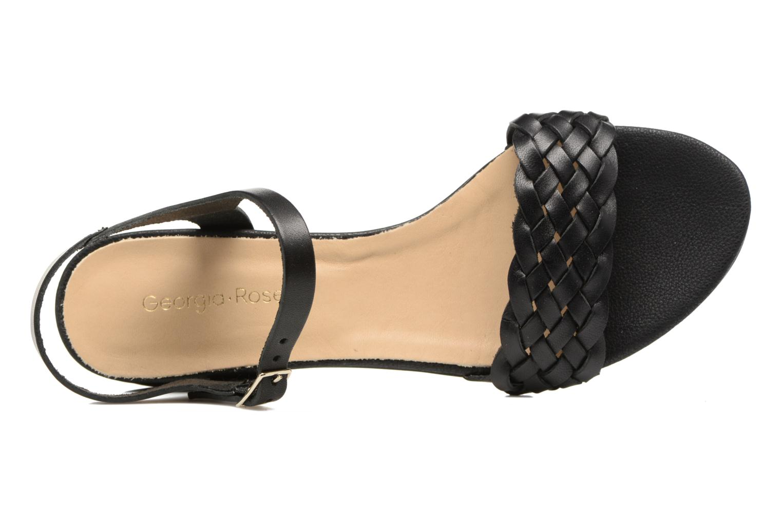 Sandals Georgia Rose Loutresse Black view from the left
