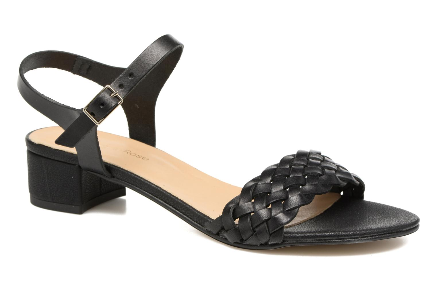 Sandals Georgia Rose Loutresse Black detailed view/ Pair view