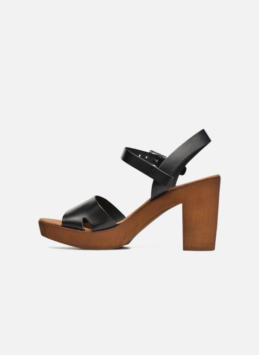 Sandales et nu-pieds Georgia Rose Dobou Noir vue face