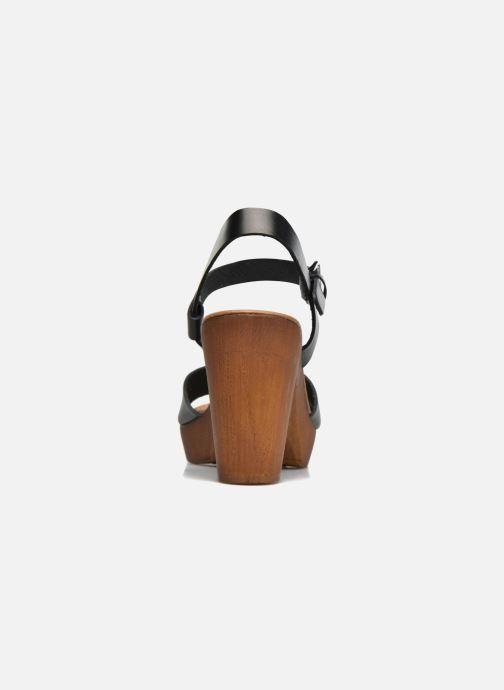 Sandales et nu-pieds Georgia Rose Dobou Noir vue droite