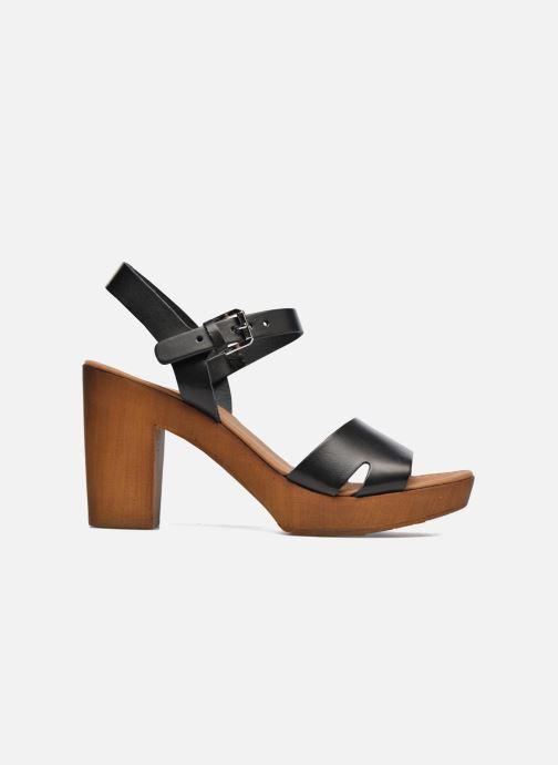 Sandales et nu-pieds Georgia Rose Dobou Noir vue derrière