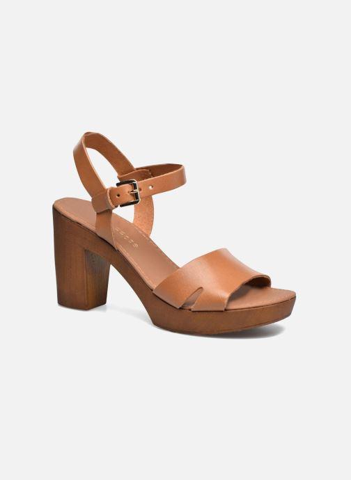 Sandales et nu-pieds Georgia Rose Dobou Marron vue détail/paire