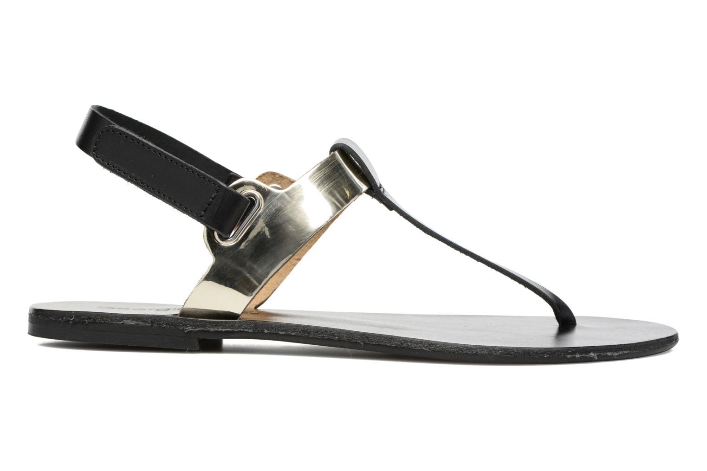 Sandalen Georgia Rose Documo Zwart achterkant