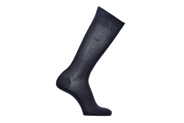 Socks & tights Calvin Klein Chaussettes ESSENTIAL 14 GAUGE Coton Blue detailed view/ Pair view