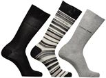 Socks & tights Accessories Chaussettes MUTI STRIPE GIFT BOX Pack de 3 Coton