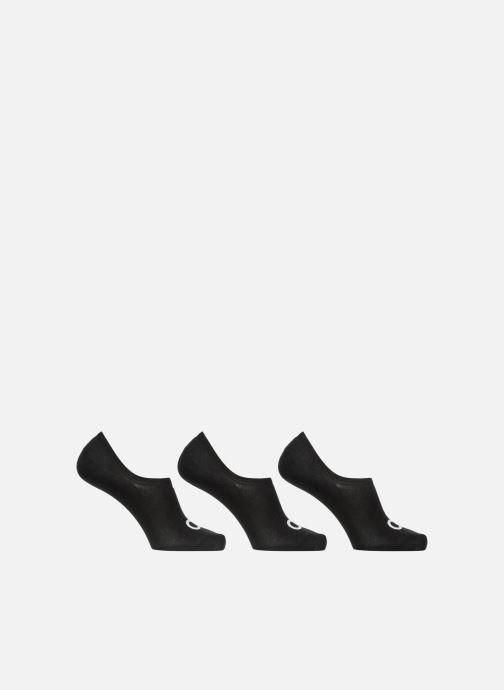 Chaussettes et collants Calvin Klein Lot de 3 paires de Chaussettes Invisibles Logo Ck Noir vue détail/paire