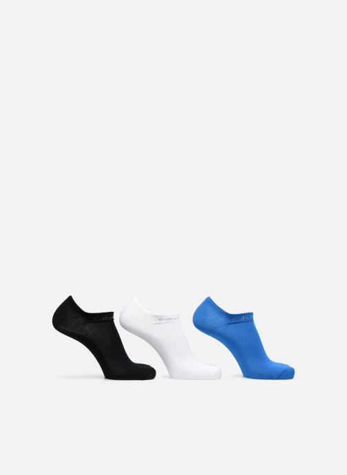 Socks & tights Calvin Klein Mini-Soquettes COOLMAX COTTON LINER PACK Pack de 3 Coton Multicolor detailed view/ Pair view