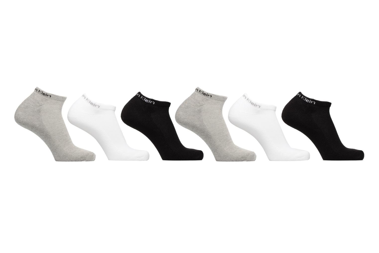 Chaussettes et collants Calvin Klein Lot de 6 paires de Chaussettes Sneakers Sport Multicolore vue détail/paire